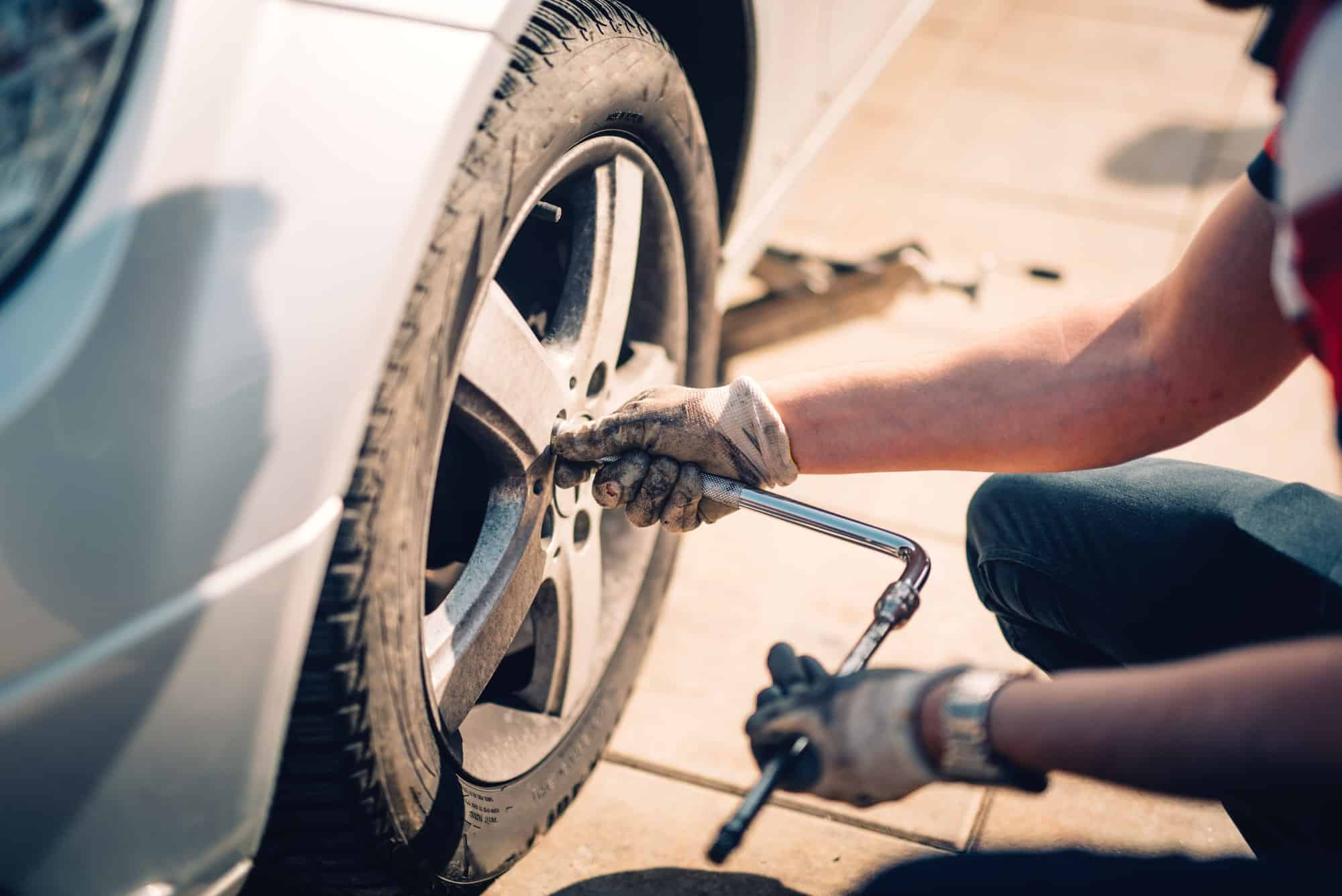 Flat Tyre Repair Services